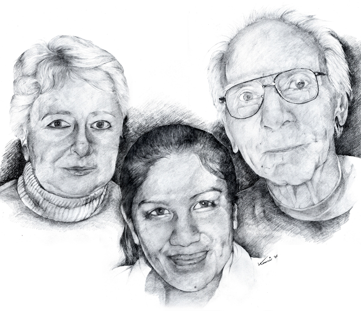 commissioned work- Family portrait